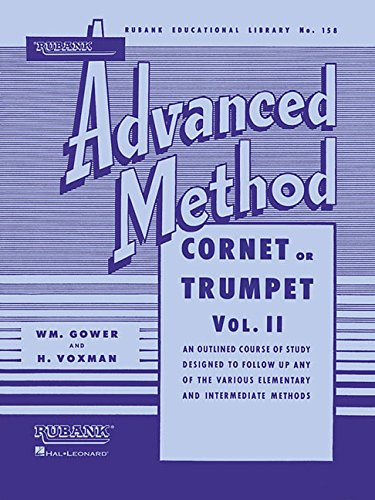 9781423444299: Rubank Advanced Method - Cornet or Trumpet, Vol. 2 (Rubank Educational Library)