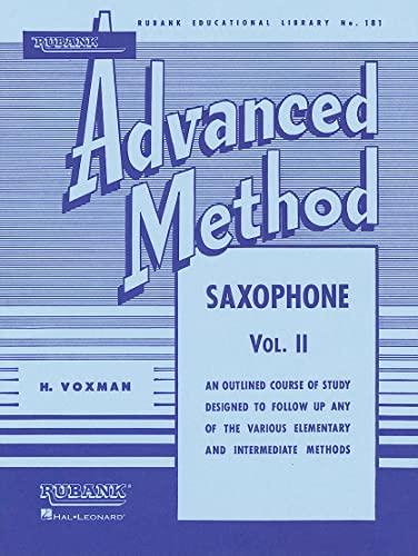 Rubank Advanced Method: Saxophone, Vol. 2 (Rubank: H. Voxman