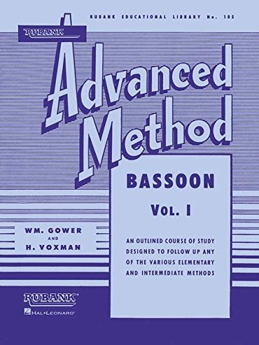 Rubank Advanced Method Bassoon: An Outline Course: Voxman, Himie (Editor)/