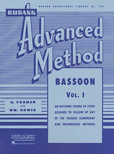 9781423444374: Rubank Advanced Method - Bassoon Vol. 1 (Rubank Educational Library)