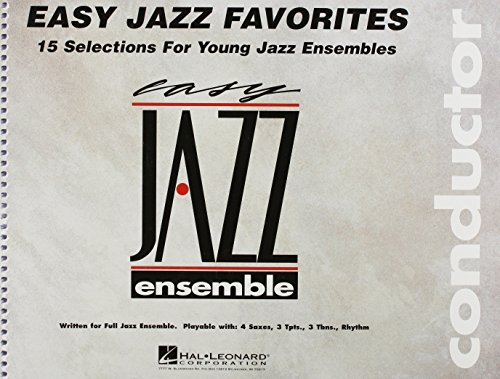 Easy Jazz Favorites: Conductor, Level 2 (Easy Jazz Ensemble)