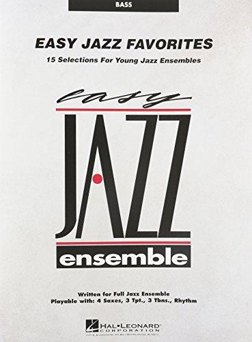 EASY JAZZ FAVORITES BASS Format: Paperback