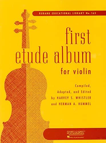 9781423444855: First Etude Album for Violin