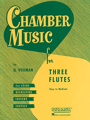 9781423444978: Chamber Music for Three Flutes