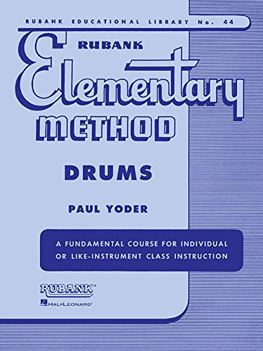 9781423445135: Rubank Elementary Methods Drums (Rubank Educational Library)