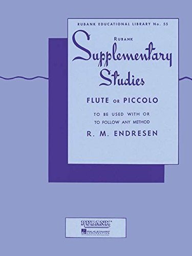 9781423445197: Supplementary Studies: Flute (Rubank Educational Library)