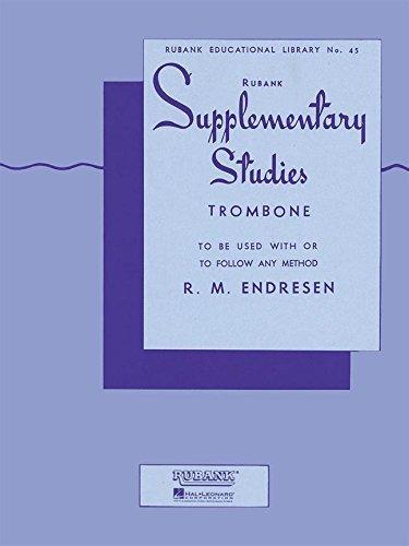 Supplementary Studies: Trombone (Rubank Educational Library): R. M. Endresen (Composer)