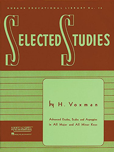 9781423445258: Selected Studies: for Clarinet (Rubank Educational Library)