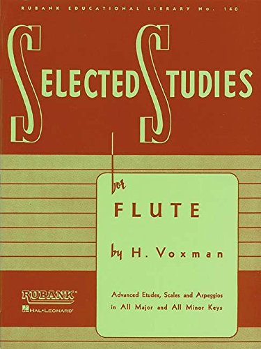 9781423445289: Selected Studies: For Flute (Rubank Educational Library)
