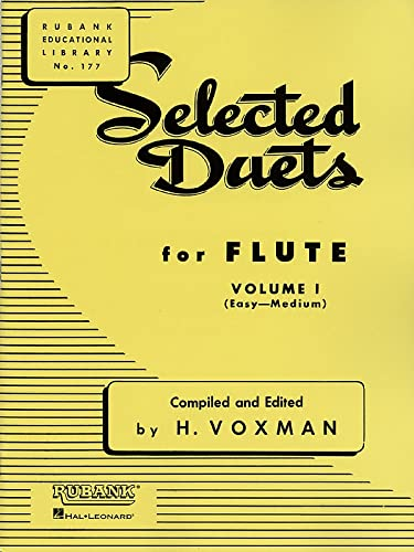 9781423445302: Selected Duets for Flute: Volume 1 - Easy to Medium (Rubank Educational Library)