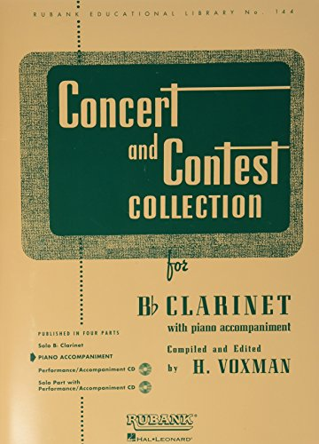 Concert and Contest Collections for Bb Clarinet: