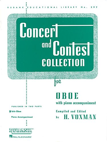 9781423445470: Concert and Contest Collection for Oboe: Solo Book Only
