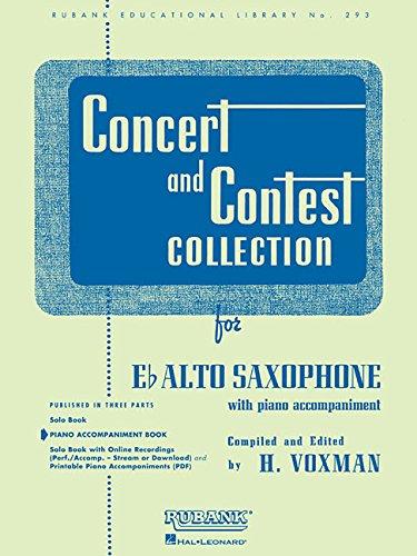 9781423445500: Concert and Contest Collections: Eb Alto Sax - Piano Accompaniment