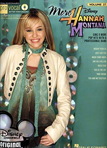 9781423445746: More Hannah Montana-Pro Vocal Songbook and Cd for Female Singers Volume 37 (Hal Leonard Pro Vocal (Numbered))