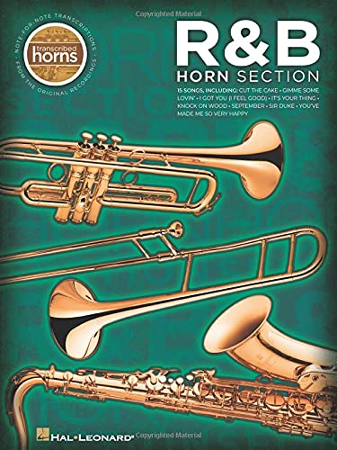 9781423446750: R&B Horn Section: Transcribed Horns