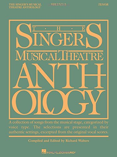 9781423447009: Singer's Musical Theatre Anthology - Volume 5: Tenor Book