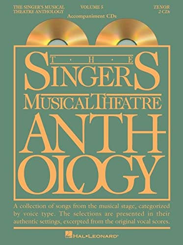 9781423447085: Singer's Musical Theatre Anthology - Volume 5: Tenor Accompaniment CDs (Singer's Musical Theatre Anthology (Accompaniment))