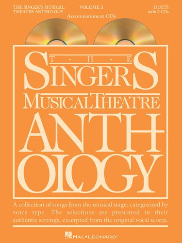 9781423447108: Singer's Musical Theatre Anthology Duets Volume 3: Accompaniment CDs