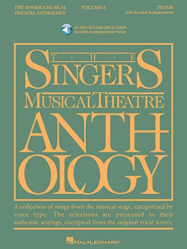Singer's Musical Theatre Anthology - Volume 5: Tenor Book/2 CDs Pack (Singer's ...