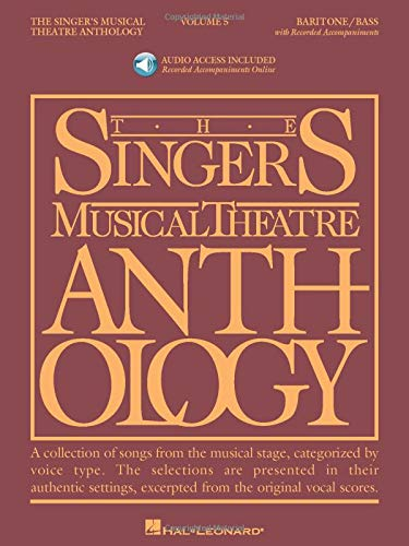 9781423447146: Singer's Musical Theatre Anthology - Volume 5: Baritone/Bass Book with Online Audio (Singer's Musical Theatre Anthology (Songbooks))