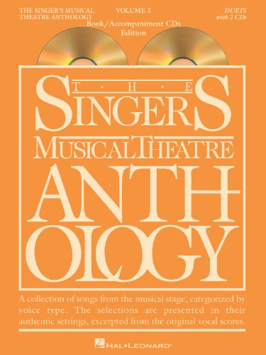 Singer's Musical Theatre Anthology Duets Volume 3 Book/CDs