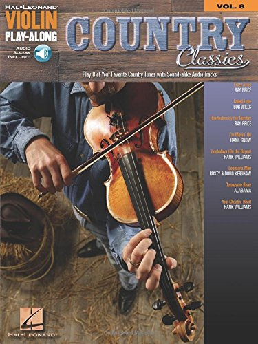 9781423447238: Violin Play-Along Country Classics Vol. 8 BK/online audio(Hal Leonard Violin Play Along)
