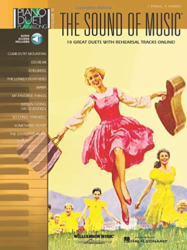 9781423449294: The Sound of Music: Piano Duet Play-Along Volume 10 Bk/Online Audio