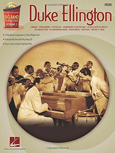 Duke Ellington Big Band Play-Along Vol.3 Drums BK/CD