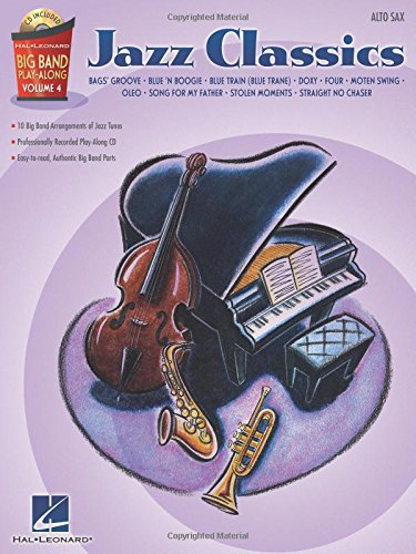 9781423449843: Jazz Classics Big Band Play-Along Volume 4 (Book And Cd) Asax Book/Cd (Hal Leonard Big Band Play-Along)