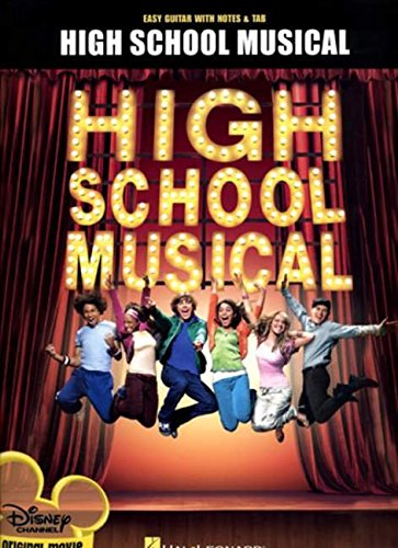9781423451150: High School Musical for Easy Guitar With Notes and Tabs Disney Channel Original Movie