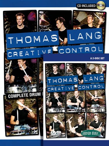 9781423451198: Thomas Lang - Creative Control: Book/CD/DVD Pack