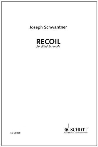 9781423451372: Recoil for Wind Ensemble-Full Score