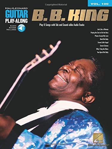 9781423451938: B.B. King: Guitar Play-Along Volume 100