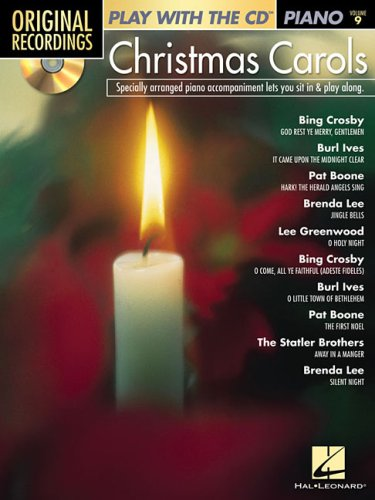 9781423451969: Christmas Carols Vol 9 Pf Bkcd (Original Recordings: Play With the CD Piano)
