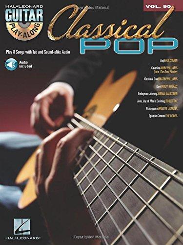 9781423451976: Guitar Play Along Vol.090 Classical Pop Tab CD (Book & CD)