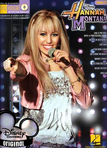 9781423452805: Hannah Montana Volume 20 Bk/Cd Disney Pro Vocal (Vol 20)