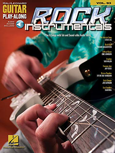 9781423453444: ROCK INSTRUMENTALS - GUITAR PLAY-ALONG VOLUME 93 (BOOK/CD) (Hal Leonard Guitar Play-Along)