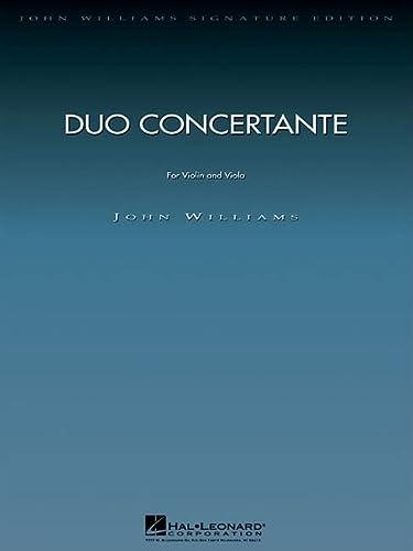 Duo Concertante: for Violin and Viola (John Williams Signature Edition - String)
