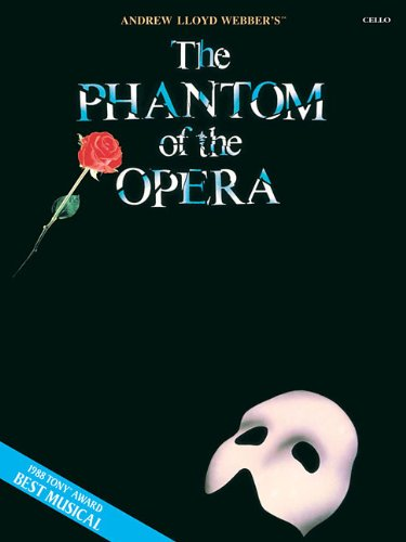 9781423454168: The Phantom of the Opera Cello (Book Only)