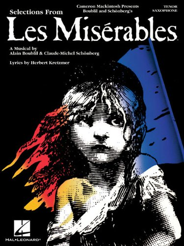 9781423454175: Selections From Les Miserables Tenor Sax