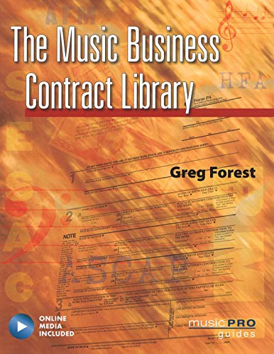 9781423454588: The Music Business Contract Library: Music Pro Guides