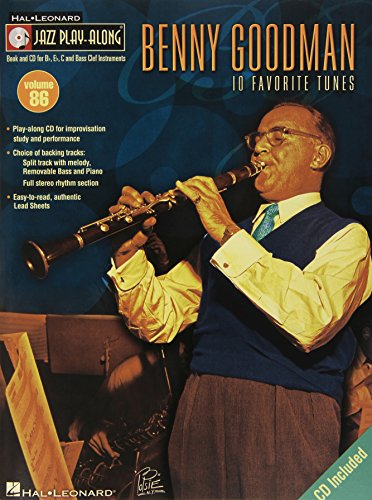 9781423454717: Benny Goodman: 10 Favorite Tunes (Jazz Play-along)