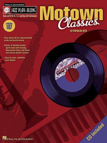 Jazz Play Along Vol.107 Motown Classics Bb, Eb, C Inst. CD (Hal Leonard Jazz Play-Along): Collectif