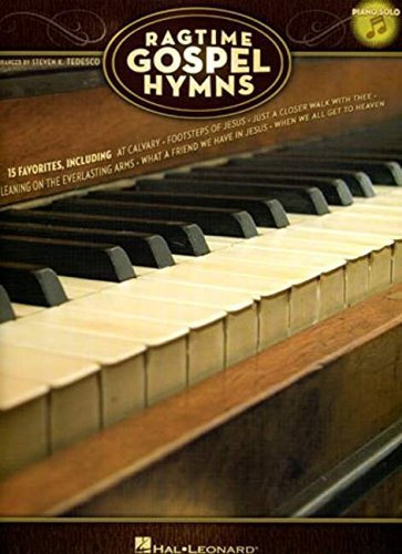 9781423456438: Ragtime Gospel Hymns: Piano Solo (Book & CD)