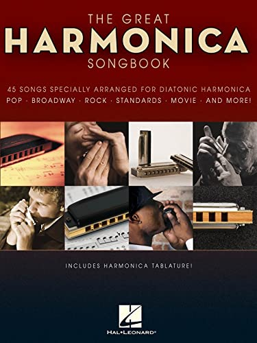 9781423456575: The Great Harmonica Songbook: 45 Songs Specially Arranged for Diatonic Harmonica