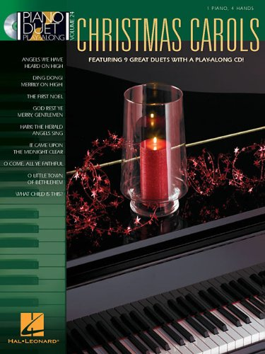 9781423456711: Christmas Carols [With CD] (Piano Duet Play-Along (Hal Leonard))