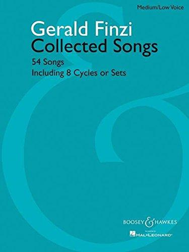 Gerald Finzi Collected Songs: 54 Songs, Including: Finzi, Gerald