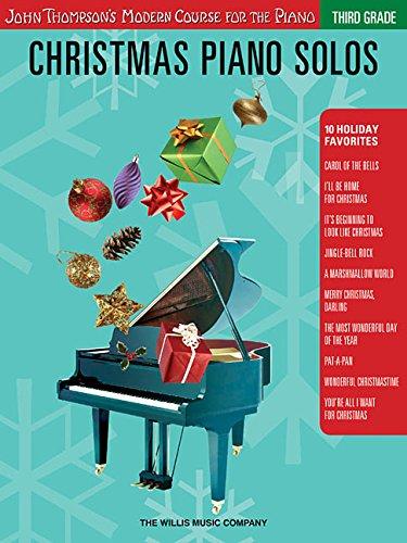 9781423456919: Christmas Piano Solos - Third Grade (Thompson Modern Course) (John Thompson's Modern Course for the Piano)
