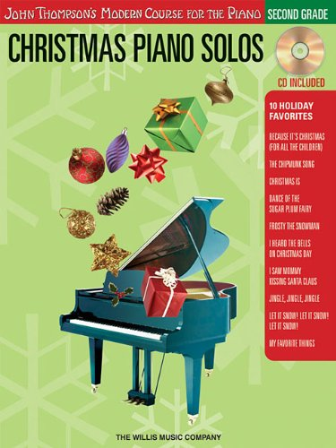 9781423456957: Christmas Piano Solos - Second Grade BK/CD (Thompson Modern Course) (John Thompson's Modern Course for the Piano)