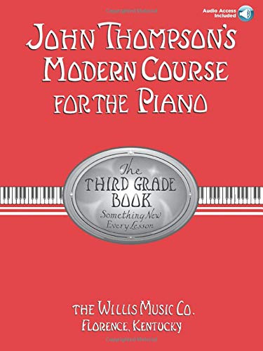 9781423457541: John Thompson's Modern Course for the Piano - Third Grade (Book/Audio) (John Thompson's Modern Course for the Piano Series)